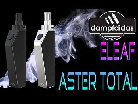 YouTube Video zu Eleaf Aster Total Starterset 1600 mAh 2 ml