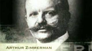 Sinking of the Lusitania and the Zimmerman Telegram