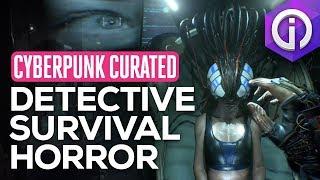 Cyberpunk Investigator Game - Observer (Blade Runner meets Inception)