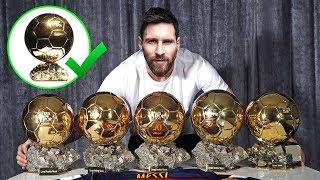 Почему МЕССИ получит Золотой Мяч! Голы, финты, достойные ЗМ2017