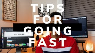 Tips For Getting Faster At FPV Racing