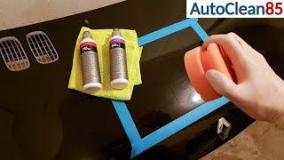 AUTO POLIEREN mit KOCH CHEMIE / Motorhaube aufbereiten / Swirls Hologramme Kratzer entfernen