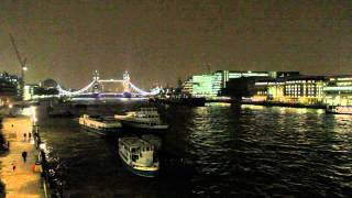 River Thames Night View