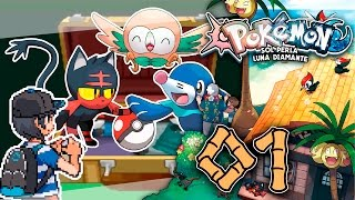 Rowlet  - (Pokémon) - ROWLET LITTEN o POPPLIO | #1 Pokemon Sol Perla vs Pokemon Luna Diamante Hardlocke