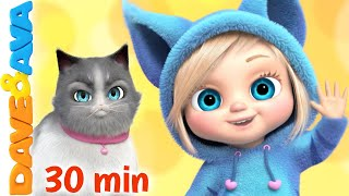 🥁 Ava, Ava, - Yes, Mama & More Nursery Rhymes | Dave and Ava 🥁