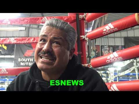 ROBERT GARCIA SAYS RYAN GARCIA BEATS GERVONTA TANK DAVIS BUT IT'S A CLOSE FIGHT  EsNews Boxing