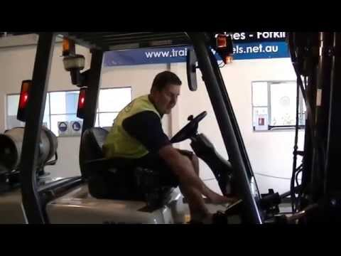 Forklift Training - Post start up checks - Part 4/6