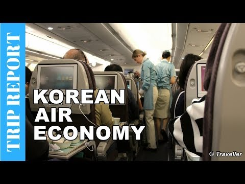Korean Air Economy Class flight to Seoul - Airbus A330 Flight Review - Long Haul