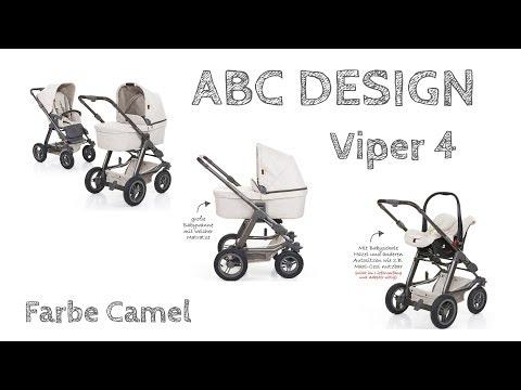 Kinderwagen Review - ABC Design - Viper 4 - 2017 Montage & Aufbau :)