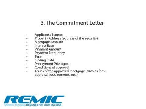 Submitting a Mortgage Application - Ontario Mortgage Agent Course ...