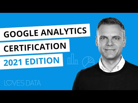 Google Analytics Certification // 2021 Edition // Steps to become ...