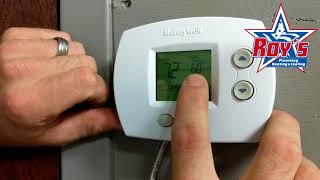 How to Use Your Honeywell 5000 Thermostat
