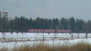 preview picture of video 'S-Bahn Richtung Unterhaching Infinion.AVI'
