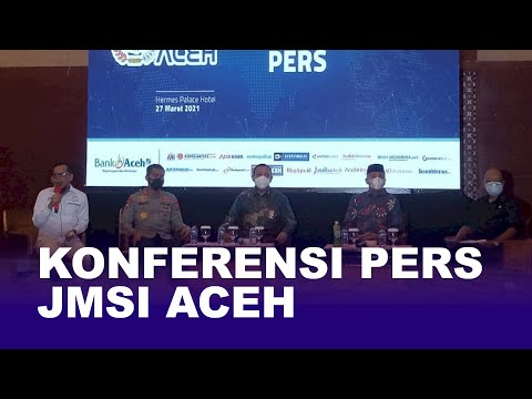 Konferensi Pers JMSI Aceh
