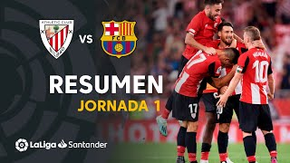 Resumen de Athletic Club vs FC Barcelona (1-0)