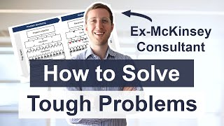 HOW TO SOLVE PROBLEMS - How do consulting firms work (hypothesis-based problem solving explained)