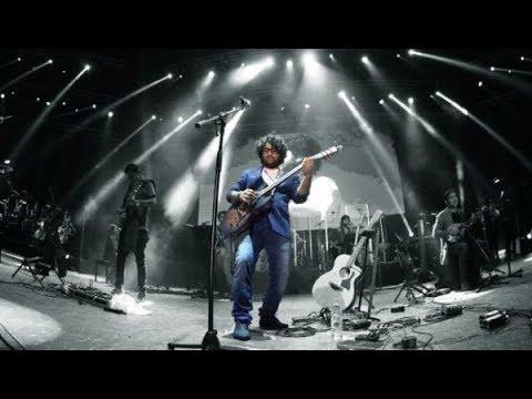 SINGER ARIJIT SINGH TRIBUTE TO  ROCKSTARS SJ(SHANKAR JAIKISHAN) LIVE ON GUITAR