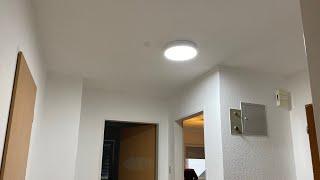 LED Deckenlampe 20W 2000LM 6000K LED Platine Deckenleuchte Spritzwasser Schutz Unboxing und Montage