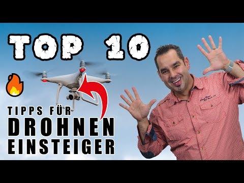 TOP 10 🔥 Drohnen Tipps für Anfänger