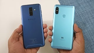 Samsung Galaxy A6+ vs Redmi Note 5 Pro Speed Test !