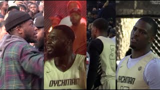 🍇Isaiah Washington, Lance Stephenson, Nate Robinson POP OUT to DYCKMAN PARK for GAME of the SUMMER!