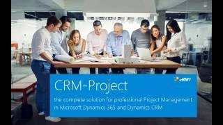 Project Management in Microsoft Dynamics 365 and Dynamics CRM