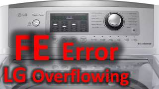 what is the meaning of pe in lg washing machine - मुफ्त
