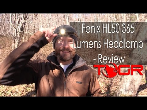 Fenix HL50 – 365 Lumens Headlamp – Review