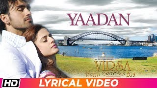 Yaadan | Lyrical Video | Virsa | Jawad Ahmad | Latest Punjabi