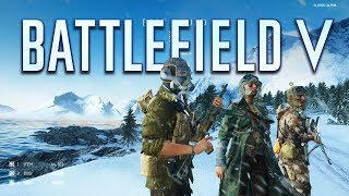 Battlefield 5 Closed Alpha Gameplay - Conquest