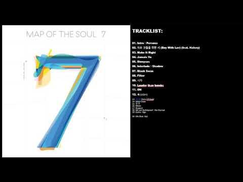 【FULL TRACKLIST】BTS (방탄소년단) MAP OF THE SOUL : 7