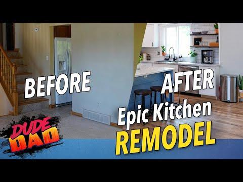 Epic Kitchen Remodel