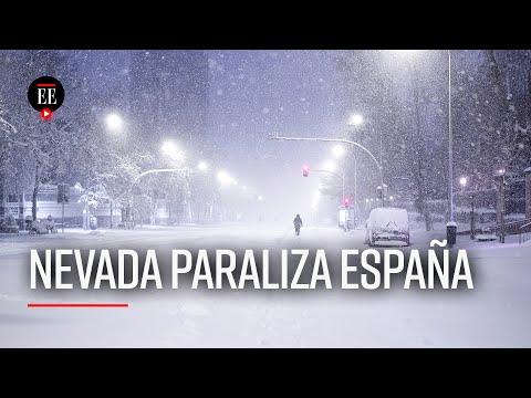 Madrid Nevado: La Mayor En La Ciudad En Medio Siglo