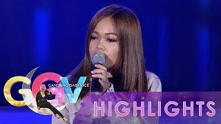 GGV: Janine Berdin kicks off the show with her performance of Eraserheads