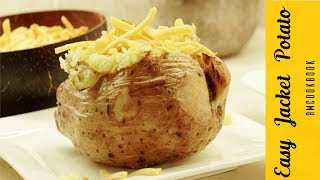 cooking jacket potatoes in microwave and oven