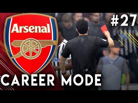 FIFA 19 Arsenal Career Mode EP27 - Red Card Drama!! Incredible Premier League Finish!!