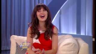"Zooey Deschanel Talks ""New Girl"" and Taylor Swift"