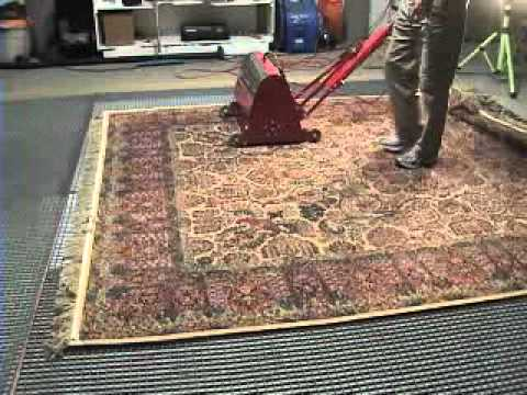 A Cleaner World Rug Cleaning: Badger System