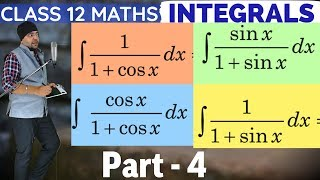 Part 4 Direct & Simplification Method Chapter 7 Integrals Class 12 Maths