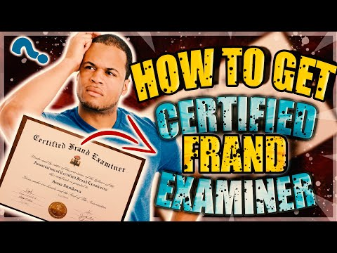 How to get CFE Certification Simple Guide 2019 - YouTube