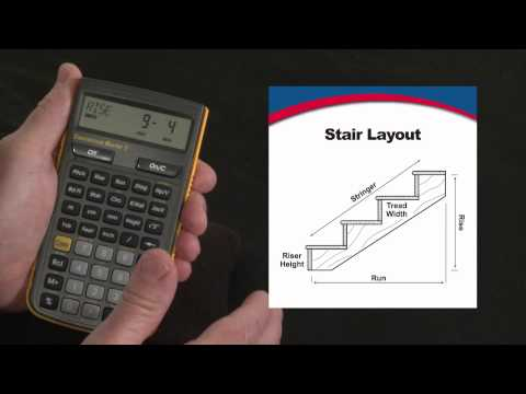 Construction Master 5 - Stair Layout