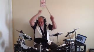 """AC/DC """"Anything Goes""""  Drum Cover"""