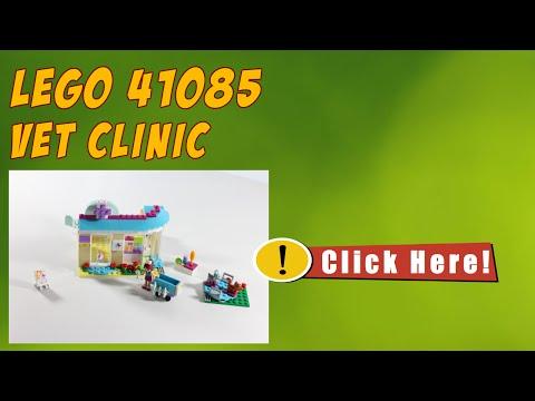 Vidéo LEGO Friends 41085 : La clinique vétérinaire