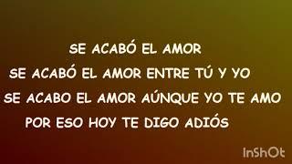 Abraham Mateo, Yandel, Jennifer Lopez - Se Acabó el Amor - LETRA