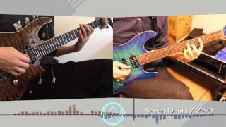 トリニティセブンOP 「Seven Doors」 (Guitar cover)