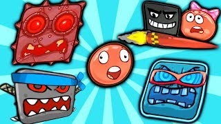 RED BALL 4 The Full Walkthrough movie of the game RED BALL, the new series of children