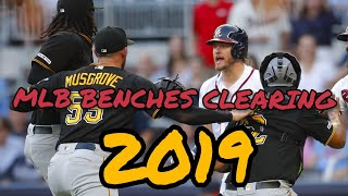 MLB Benches Clearing 2019