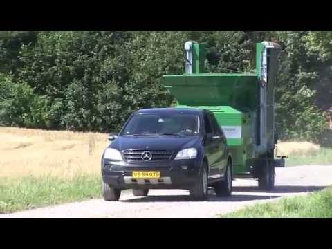 Zemmler MS 1600 mobile Siebmaschine Doppeltrommelsiebanlage
