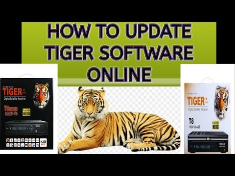 How to update tiger receiver software online 2019 urdu/Hindi