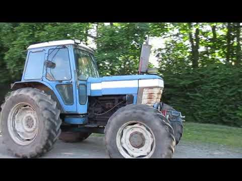 Video: Ford 8210 Traktor. 1